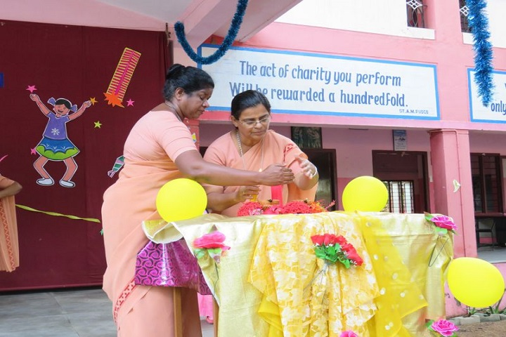 Fuscos Matriculation Higher Secondary School- Diwali Celebration