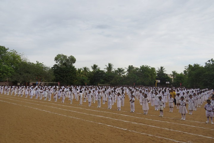 Fuscos Matriculation Higher Secondary School-Independence Day Celebration