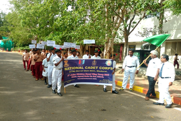 MNU Jayaraj Nadar Higher Secondary School-Rally