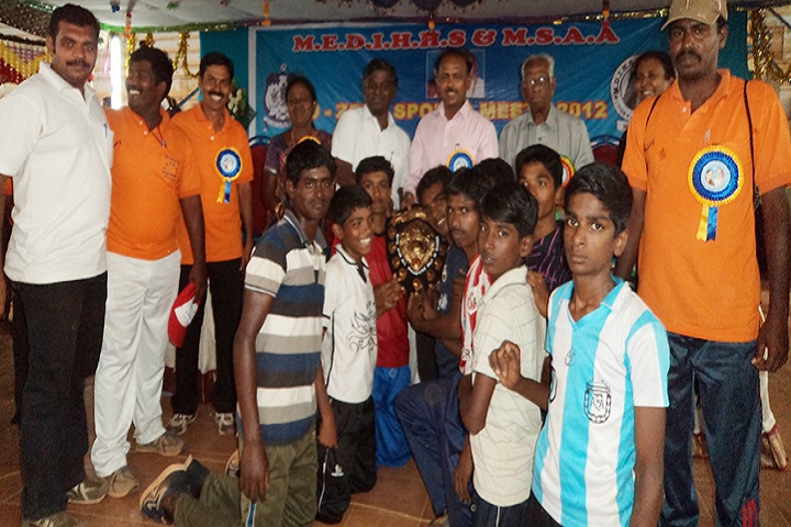 MNU Jayaraj Nadar Higher Secondary School-Sports Winner