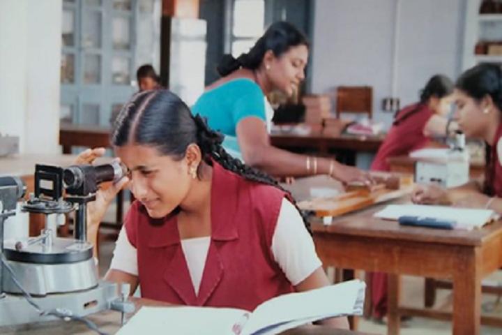 Sitalakshmi Girls Higher Secondary School-Biology Lab