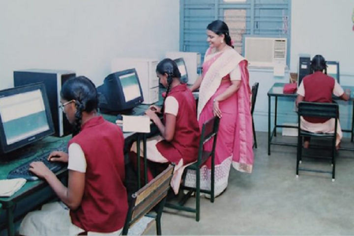 Sitalakshmi Girls Higher Secondary School-Computer Lab