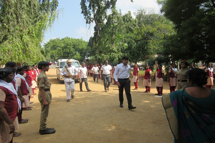 Sitalakshmi Girls Higher Secondary School-NCC