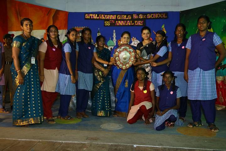 Sitalakshmi Girls Higher Secondary School-Prize