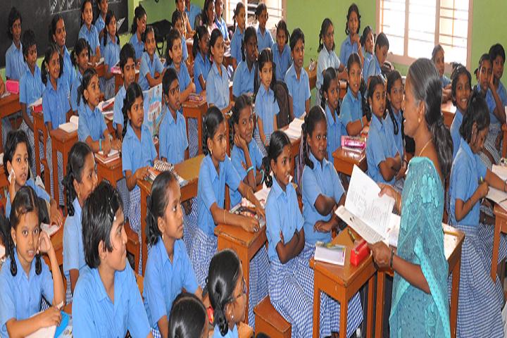 St Josephs Matriculation Higher Secondary School-Classroom