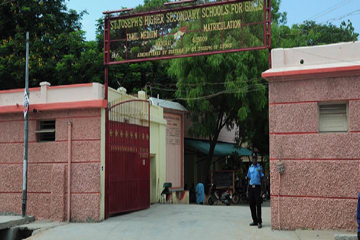 St Josephs Matriculation Higher Secondary School-School Entrance