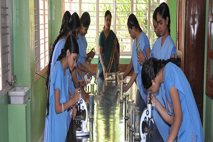 St Josephs Matriculation Higher Secondary School-Science Lab