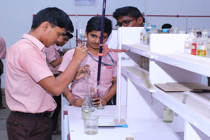 St Marys Higher Secondary School-Chemistry Lab