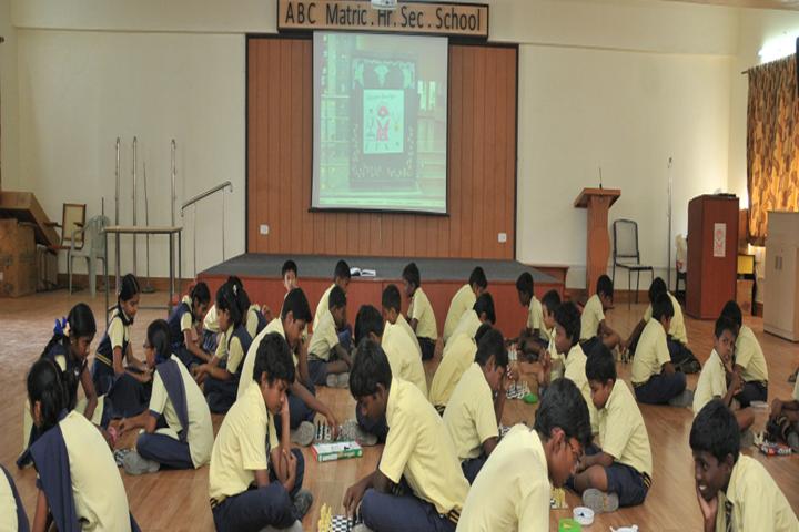ABC Matriculation Higher Secondary School-Indoor Games
