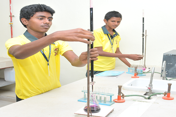 ABC Matriculation Higher Secondary School-Science Lab