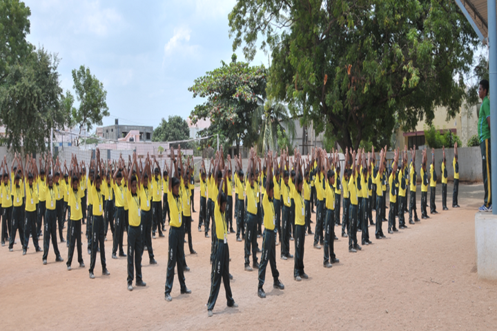 ABC Matriculation Higher Secondary School-Yoga
