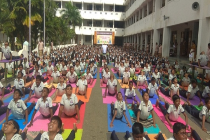 AVB Matriculation Higher Secondary School-Yoga