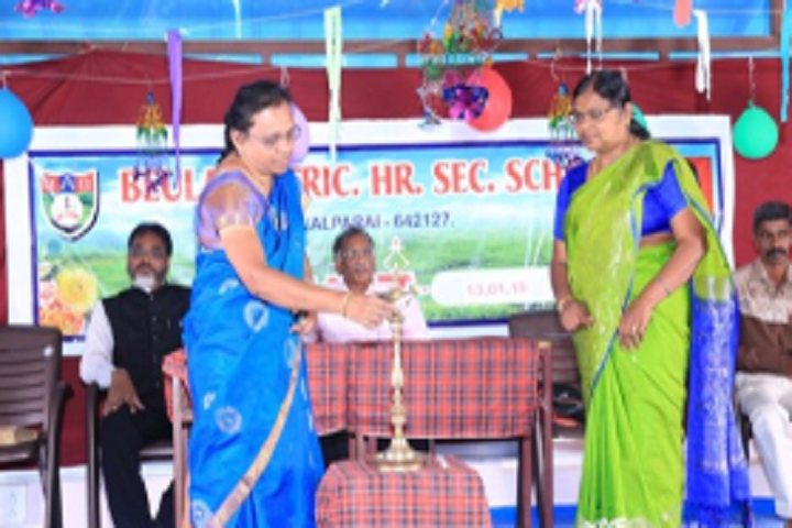 Beula Matriculation Higher Secondary School-Lighting The Lamp