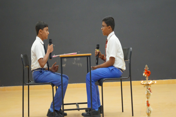 Bharathi Matriculation Higher Secondary School-Quiz Competition