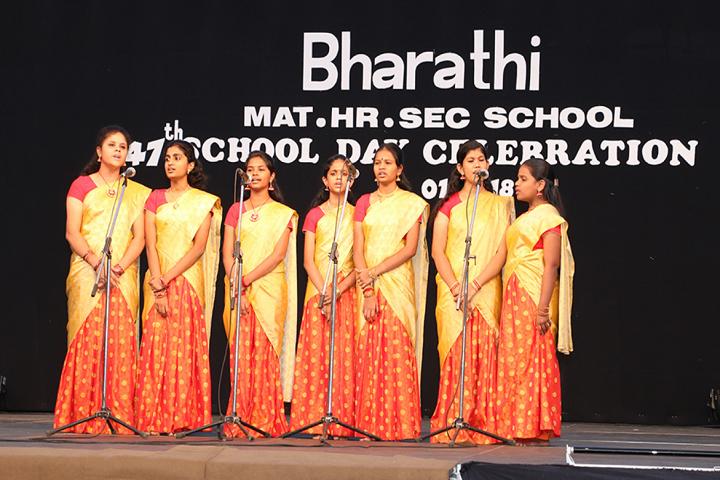 Bharathi Matriculation Higher Secondary School-Singing