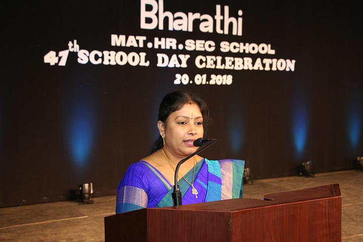 Bharathi Matriculation Higher Secondary School-Speech