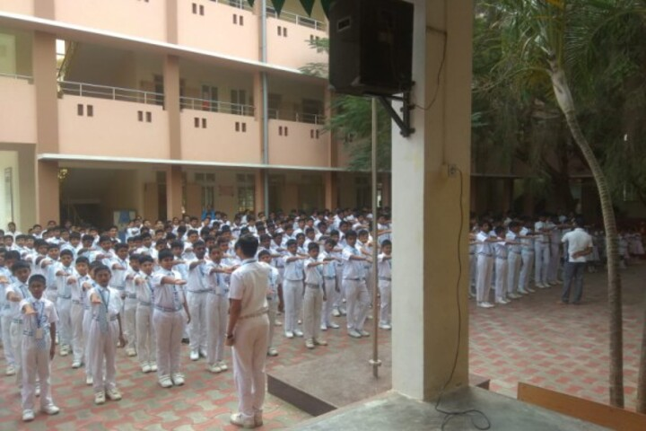 Geethanjalee Matriculation Higher Secondary School-Assembly