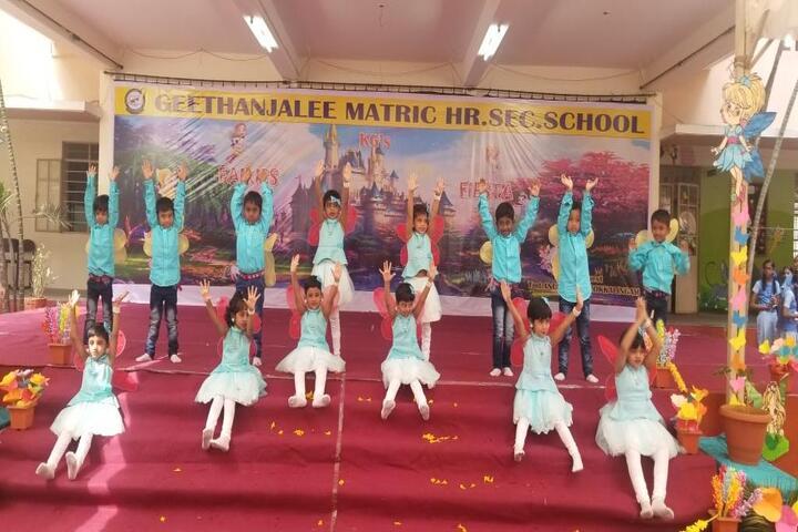 Geethanjalee Matriculation Higher Secondary School-Kids Dance