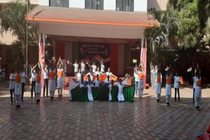 Geethanjalee Matriculation Higher Secondary School-Republic Day