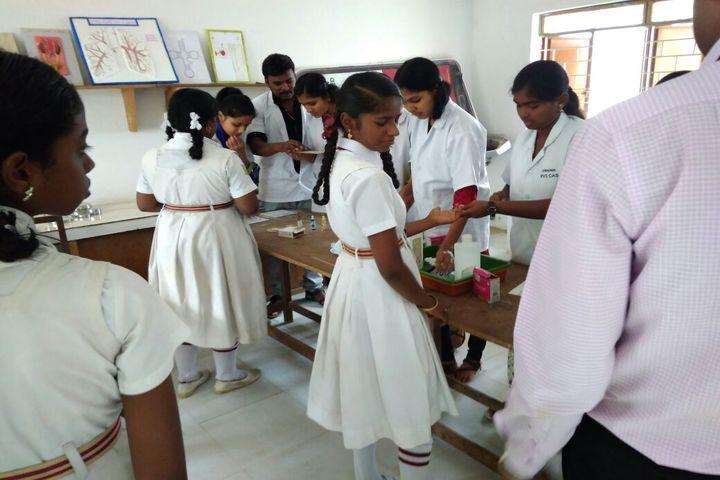 Kennedy Matriculation Higher Secondary School-Biology Lab