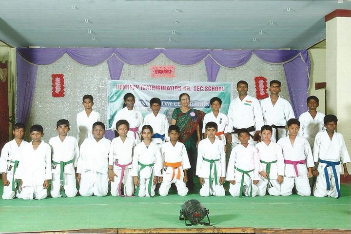 Kennedy Matriculation Higher Secondary School-Karate