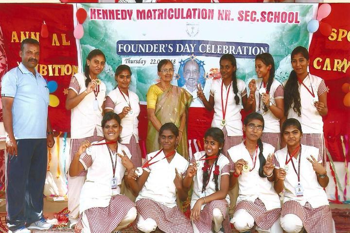 Kennedy Matriculation Higher Secondary School-Winners