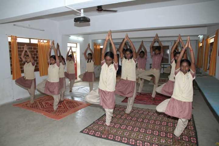 Kennedy Matriculation Higher Secondary School-Yoga