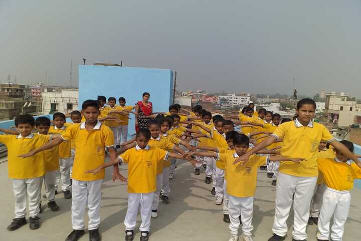 Vivekanand Memorial Academy-Drill