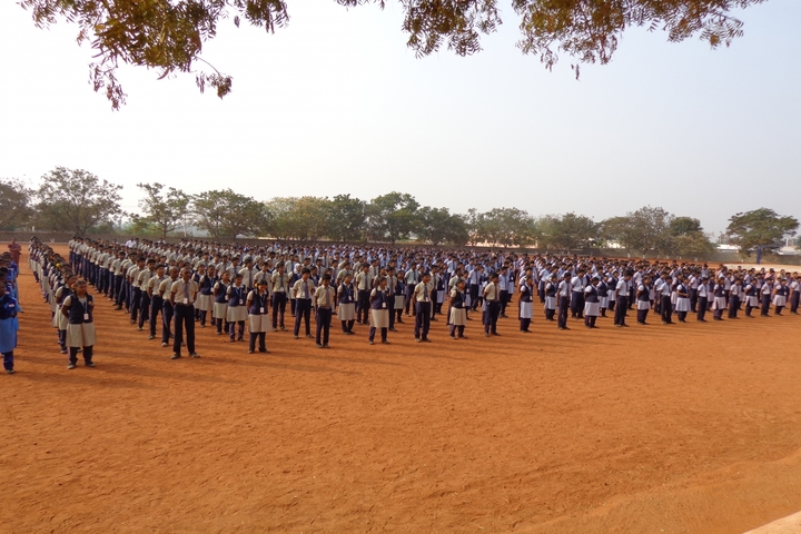 Kongu Vellalar Matriculation Higher Secondary School-Assembly