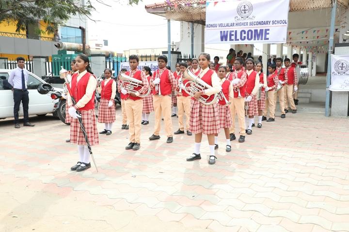 Kongu Vellalar Matriculation Higher Secondary School-School Band