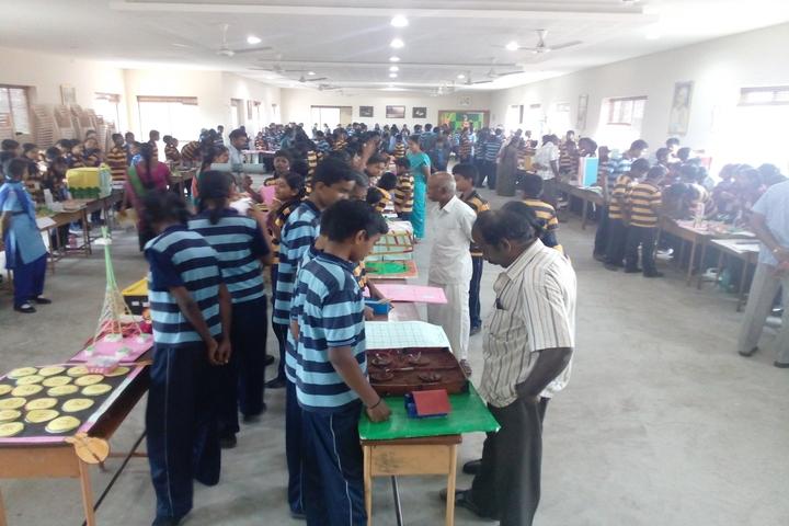 Kongu Vellalar Matriculation Higher Secondary School-Science Exhibition