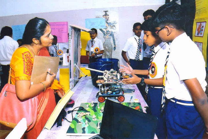 Lisieux Matriculation Higher Secondary School-Science Exhibition