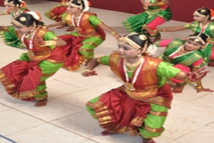 P R Sidha Naidu Memorial Matriculation School-Classical Dance