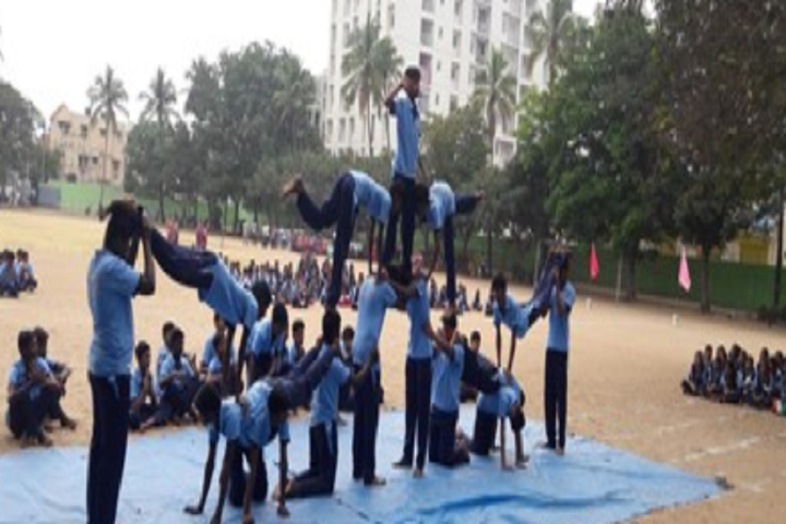 P R Sidha Naidu Memorial Matriculation School-Sports  Day