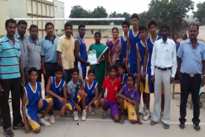 Rajalakshmi Genguswamy Matriculation Higher Secondary School-Basket Ball Winner
