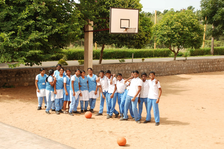 Shaanthi Matriculation Higher Secondary School-Basket Ball