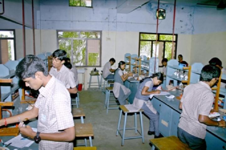 Suburban Matriculation Higher Secondary School-Chemistry Lab