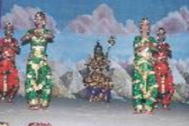 Suburban Matriculation Higher Secondary School-Classical Dance