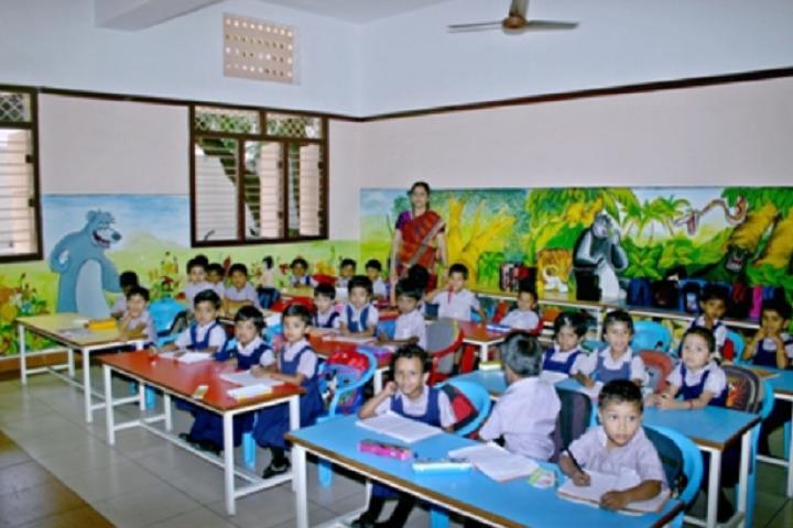 Suburban Matriculation Higher Secondary School-LKG Students Class Room