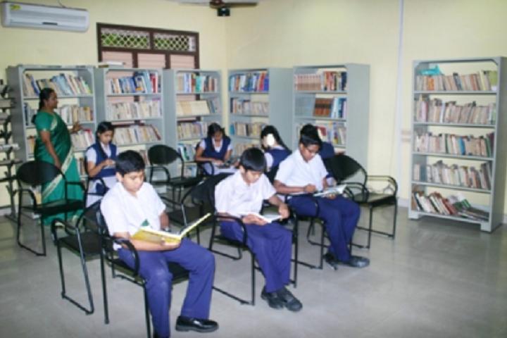 Suburban Matriculation Higher Secondary School-Library