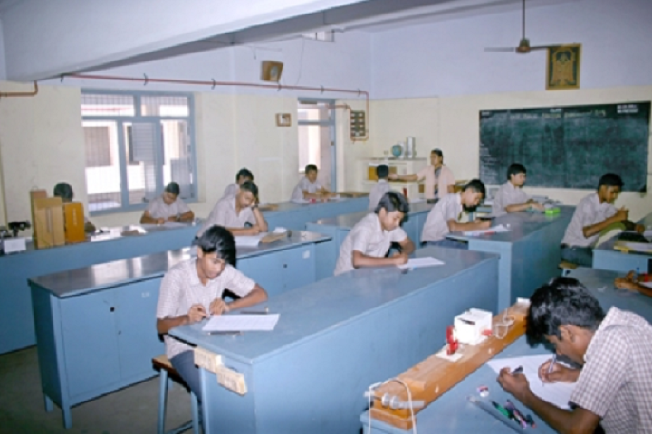 Suburban Matriculation Higher Secondary School-Physics Lab
