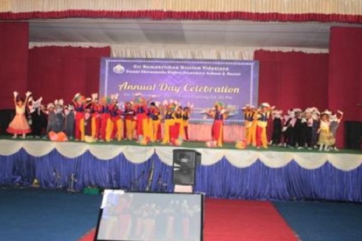 Sri Ramakrishna Mission Vidyalaya Swami Shivananda Higher Secondary School-Annual Day Celebration