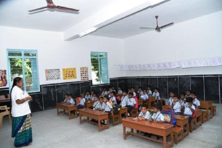 Sri Ramakrishna Mission Vidyalaya Swami Shivananda Higher Secondary School-Class Room