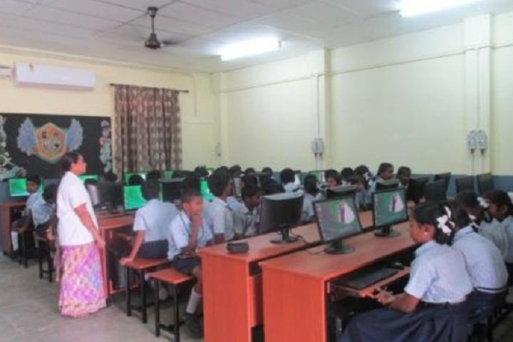 Sri Ramakrishna Mission Vidyalaya Swami Shivananda Higher Secondary School-Computer Lab