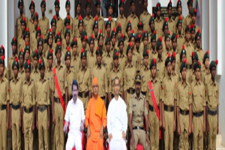 Sri Ramakrishna Mission Vidyalaya Swami Shivananda Higher Secondary School-NCC Team