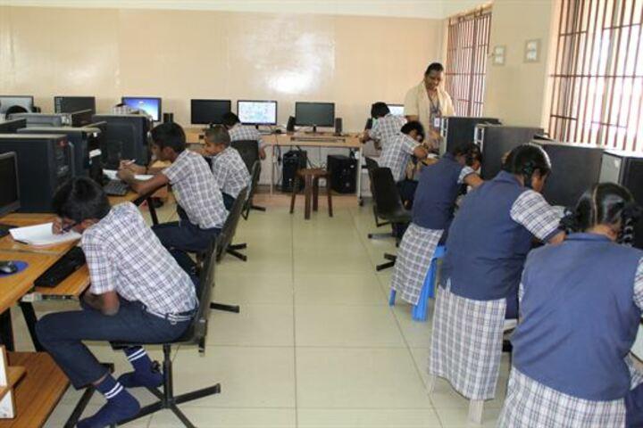 Vidya Vikasini Matriculation Higher Secondary School-Computer Lab