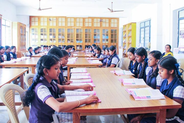 Vimal Jyothi Convent Matric Higher Secondary School-Library