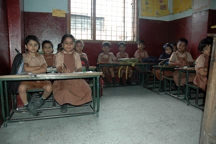 Lohias Little Angels High School-LKG Students Class Room