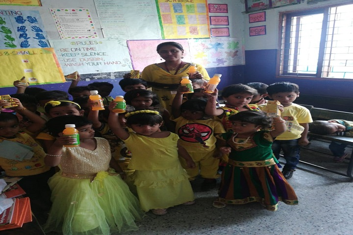 Lohias Little Angels High School-Yellow Day Activity