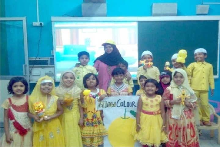 Madina Quraanic Mission High School-Yellow Day Celebration